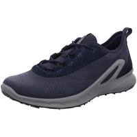 Schuhe Herren Sneaker Low Ecco Schnuerschuhe Biom Omniquest 853114.54780 blau