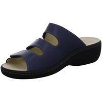 Schuhe Damen Pantoletten / Clogs Longo Pantoletten 1006395 1006395 blau