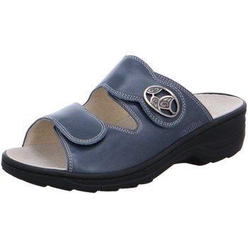 Schuhe Damen Pantoffel Fidelio Pantoletten HEDI 23411 69 (H) blau