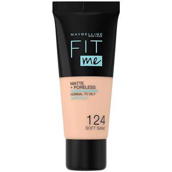 Maybelline New York  Make-up & Foundation Fit Me Matte+poreless Foundation 124-soft Sand