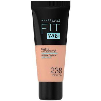 Maybelline New York  Make-up & Foundation Fit Me Matte+poreless Foundation 238-rich Tan