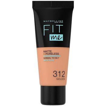 Maybelline New York  Make-up & Foundation Fit Me Matte+poreless Foundation 312-golden