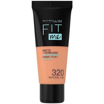Maybelline New York  Make-up & Foundation Fit Me Matte+poreless Foundation 320-natural Tan 1 u