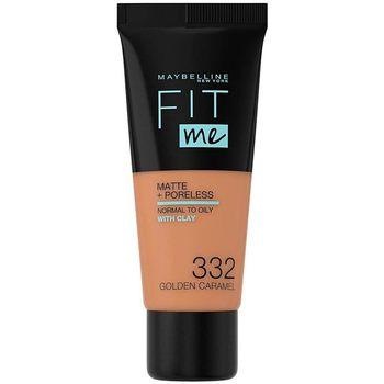 Maybelline New York  Make-up & Foundation Fit Me Matte+poreless Foundation 332-golden 1 u