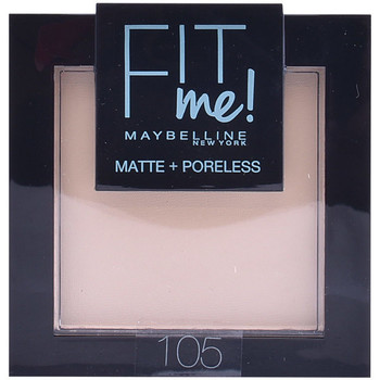 Beauty Damen Blush & Puder Maybelline New York Fit Me Matte+poreless Powder 105-natural 1 u