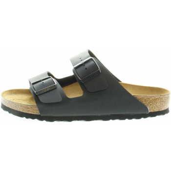 Schuhe Herren Pantoffel Birkenstock Classic 051791 Arizona Unisex Pantolette Schwarz Schwarz