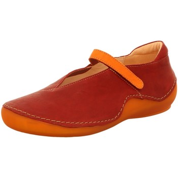 Schuhe Damen Slipper Think Slipper Kapsl Ballerina 84065-74 rot