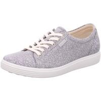 Schuhe Damen Sneaker Low Ecco Schnuerschuhe  SOFT 7 W 430003/51411 grau