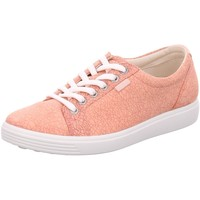 Schuhe Damen Sneaker Low Ecco Schnuerschuhe Womens 430003/51414 coral