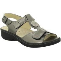Schuhe Damen Sandalen / Sandaletten Hickersberger Sandaletten Kräutersand.platin 5108-2100 grau