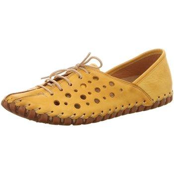 Schuhe Damen Derby-Schuhe & Richelieu Gemini Schnuerschuhe 031210-02/006 gelb