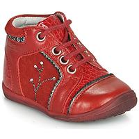 Schuhe Mädchen Boots Catimini CALINE Rot