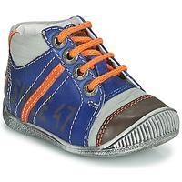 Schuhe Jungen Boots GBB ISIS Blau / Orange
