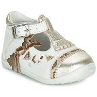 Schuhe Mädchen Ballerinas Catimini CANETTE Weiss
