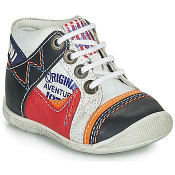 Schuhe Jungen Boots Catimini CACHALOT Weiss