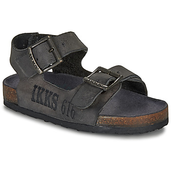 Schuhe Jungen Sandalen / Sandaletten Ikks CURTIS Schwarz