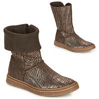 Schuhe Mädchen Klassische Stiefel Ramdam CRACOVIE Braun