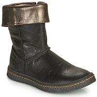 Schuhe Mädchen Klassische Stiefel Ramdam CRACOVIE Schwarz