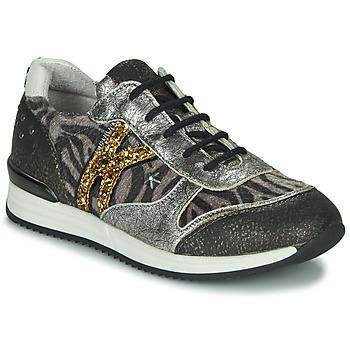 Schuhe Mädchen Sneaker Low Ikks WHITNEY Grau / Goldfarben