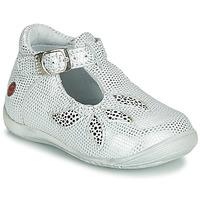 Schuhe Mädchen Sandalen / Sandaletten GBB MARIE Weiss / Silbern