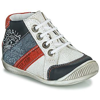 Schuhe Jungen Boots GBB MAURICE Weiss
