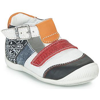 Schuhe Jungen Sandalen / Sandaletten GBB MARTIN Weiss / Marine