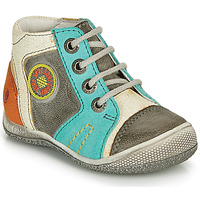 Schuhe Jungen Boots GBB MONTGOMERY Grau / Blau