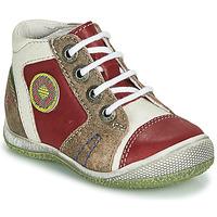Schuhe Jungen Boots GBB MONTGOMERY Rot
