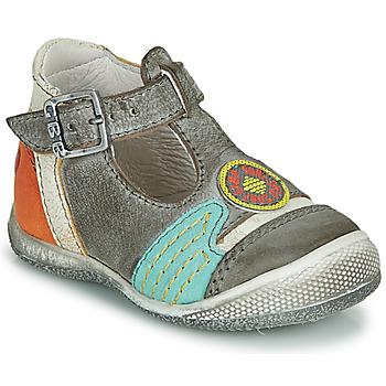 Schuhe Jungen Sandalen / Sandaletten GBB MARIO Grau / Blau