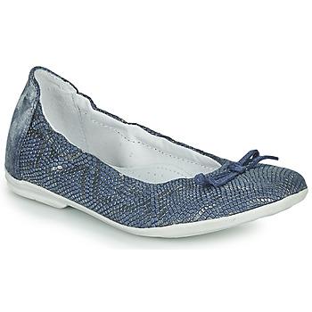 Schuhe Mädchen Ballerinas Ramdam KIKI Blau