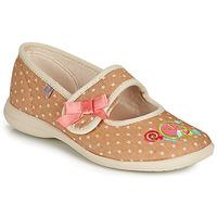 Schuhe Mädchen Hausschuhe GBB MELINA Beige