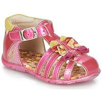 Schuhe Mädchen Sandalen / Sandaletten Catimini CYGNE Rose