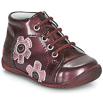 Schuhe Mädchen Boots GBB NEIGE Bordeaux