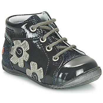 Schuhe Mädchen Sneaker High GBB NEIGE Marine / Silbern