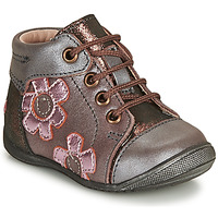 Schuhe Mädchen Boots GBB NEIGE Violett / Rose