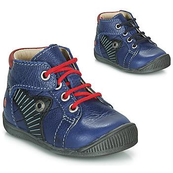 Schuhe Jungen Boots GBB NATALE Blau / Rot