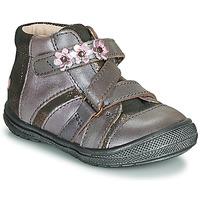 Schuhe Mädchen Boots GBB NICOLETA Grün / gelb / schwarz / Rose
