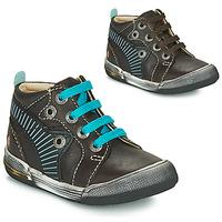 Schuhe Jungen Sneaker High GBB NOAH Braun / Blau