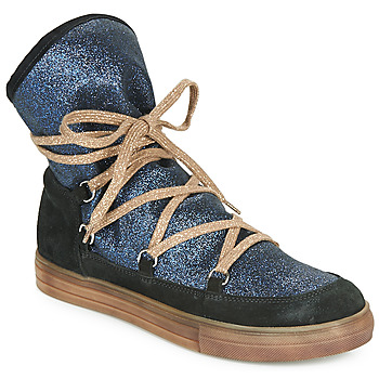 Schuhe Mädchen Klassische Stiefel Achile ANGELA Blau / Schwarz