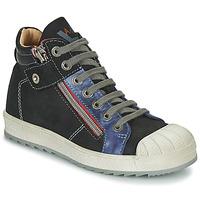 Schuhe Jungen Sneaker High Achile DIEGO Schwarz / Blau