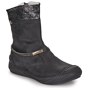 Schuhe Mädchen Boots Ikks HILLARY Schwarz