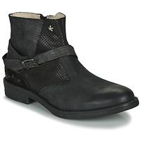 Schuhe Mädchen Boots Ikks JANE Schwarz