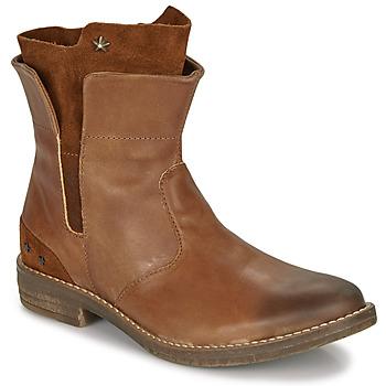 Schuhe Mädchen Boots Ikks PAMELA Cognac