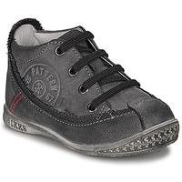 Schuhe Jungen Boots Ikks STEVEN Anthrazit
