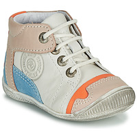 Schuhe Jungen Boots GBB PAOLO Weiss / Beige / Blau