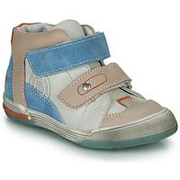 Schuhe Jungen Sneaker High GBB PATRICK Grau / Blau