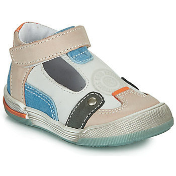 Schuhe Jungen Sandalen / Sandaletten GBB PERCEVAL Weiss / Beige / Blau