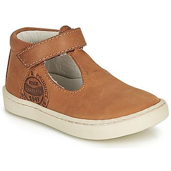 Schuhe Jungen Sandalen / Sandaletten GBB PRESTON Cognac