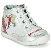 Schuhe Mädchen Boots Catimini POUSSIN Weiss