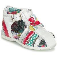 Schuhe Mädchen Sandalen / Sandaletten Catimini PERSAN Weiss / Multicolor